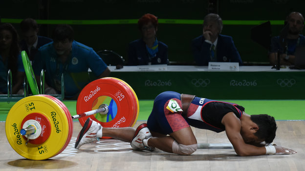 Олимпийское будущее тяжелой атлетики— под большим вопросом. Фото AFP