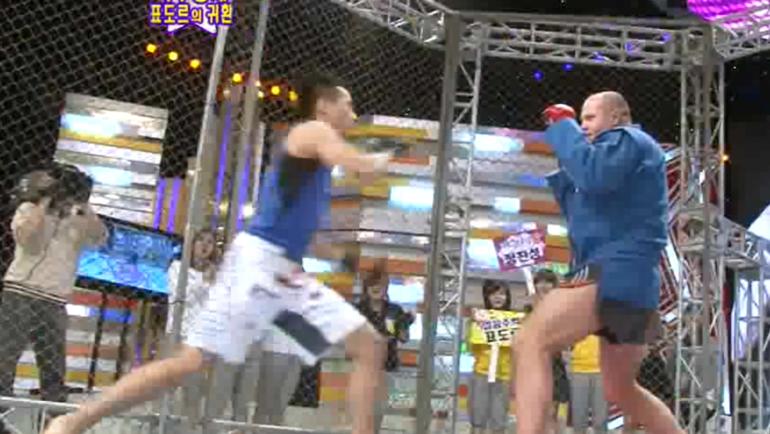 Корейский Зомби против Федора Емельяненко.