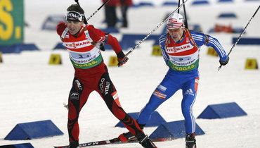 Как Бьорндален срезал трассу ради победы над Чудовым. Самая удивительная история российского биатлона