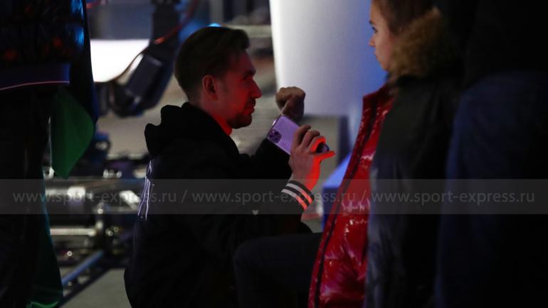 Даниил Глейхенгауз иАлина Загитова. Фото Дарья Исаева, «СЭ» / Canon EOS-1D X Mark II