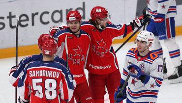 УЦСКА снова нет конкурентов? После СКА красно-синие расправились вдерби с «Динамо»