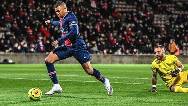 «ПСЖ» разгромил «Ним» ивозглавил лигу 1. УМбаппе— 4 гола и4 передачи в4 играх