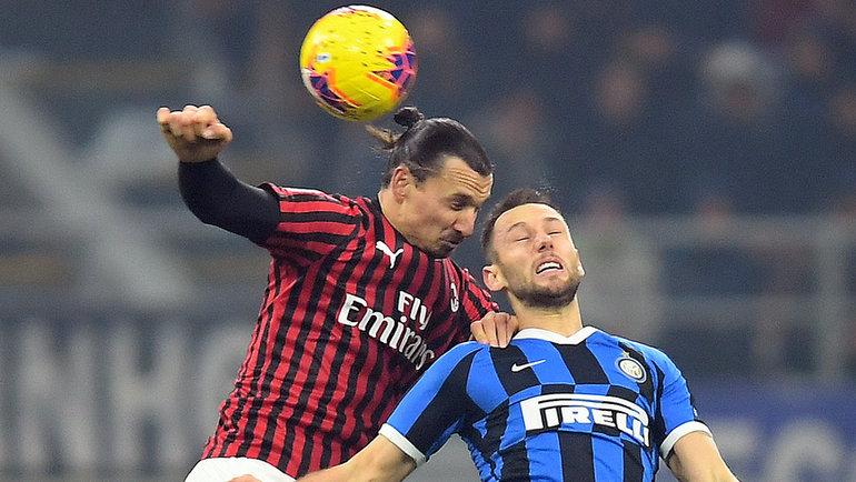 «Интер»— «Милан». Фото Reuters