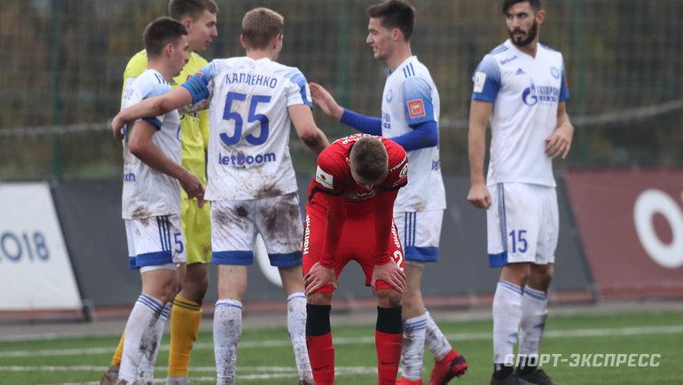 17октября. Москва. «Спартак-2»— «Оренбург»— 0:3.