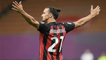 Ибрагимович победил коронавирус. Исделал дубль вдерби «Интер»— «Милан»