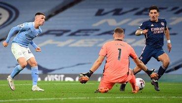 Гол Стерлинга принес «Манчестер Сити» победу над «Арсеналом»