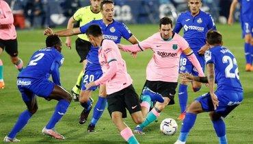 Две сенсации водин день! После поражения «Реала» от «Кадиса» «Барса» уступила «Хетафе»