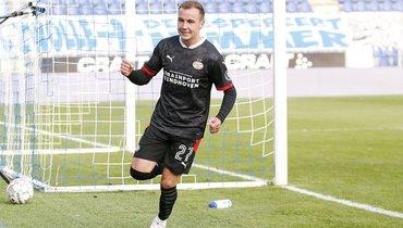 Гетце забил заПСВ через 9 минут после дебюта