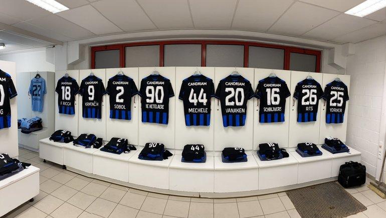 Хватитли у «Брюгге» игроков для гостевого матча вСанкт-Петербурге? Фото Twitter