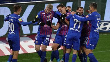 ЦСКА забил три гола «Динамо» затайм иодержал победу