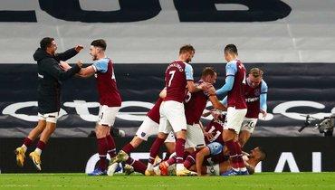 «Вест Хэм» стал первым клубом вАПЛ, кто избежал поражения, уступая к81-й минуте сосчетом 0:3