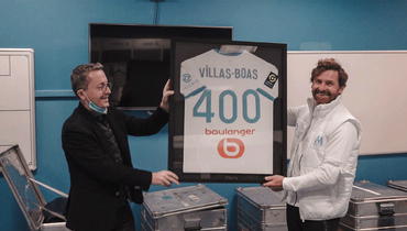 Виллаш-Боаш провел 400-й матч вкарьере вкачестве тренера. Четверть изних прошли в «Зените»