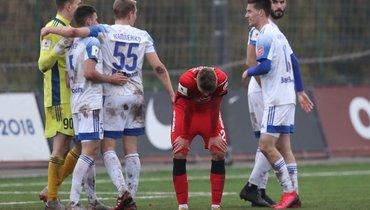 У «Спартака» украли гол? Необычная ситуация вматче первой лиги
