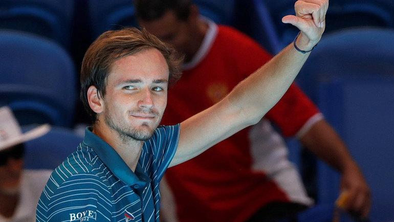 Данилл Медведев. Фото Reuters