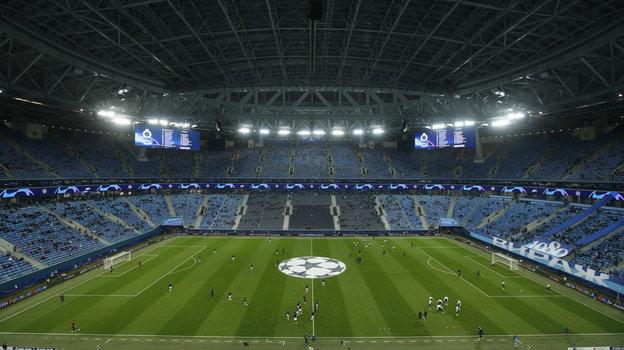 20октября. Санкт-Петербург. «Зенит»— «Брюгге»— 1:2. Фото Reuters