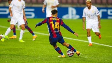 «Барселона» разгромила «Ференцварош», несмотря наудаление Пике