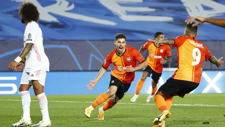21октября. Мадрид. «Реал»— «Шахтер»— 2:3. Фото Reuters