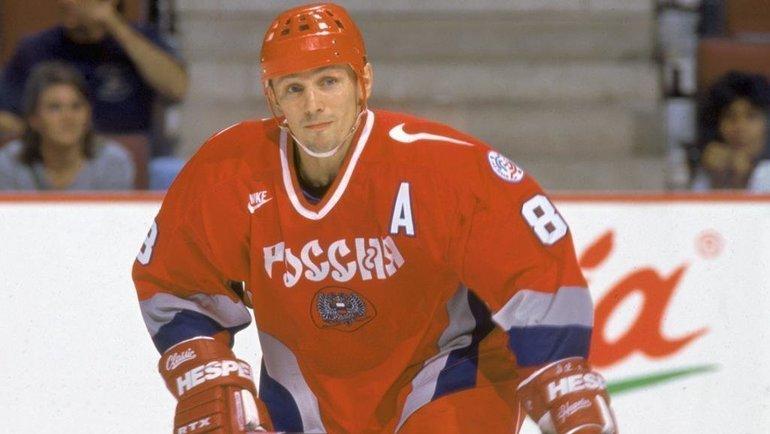Игорь Ларионов. Фото nhl.com