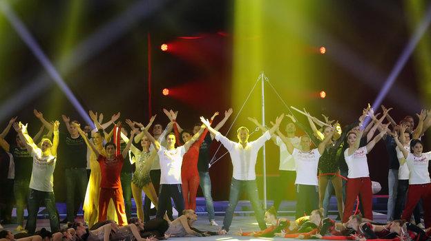 Шоу Алексея Немова «Легенды спорта». Фото Владимир Песня