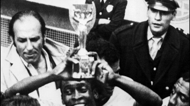 21июня 1970 года. Мехико. 21июня 1970 года. Мехико. Финал чемпионата мира. Бразилия— Италия— 4:1. Фото AFP