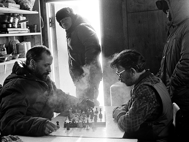 Зимние шахматы. Фото Сергей Киврин