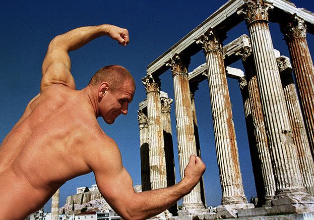 1999 год. Греция. Афины. Александр Карелин. Фото Сергей Киврин