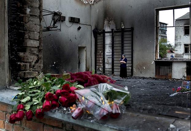 2004 год. Трагедия Беслана. Фото Сергей Киврин