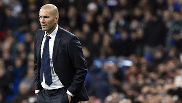 Зидана могут уволить из «Реала» после матчей с «Барселоной» и «Боруссией»