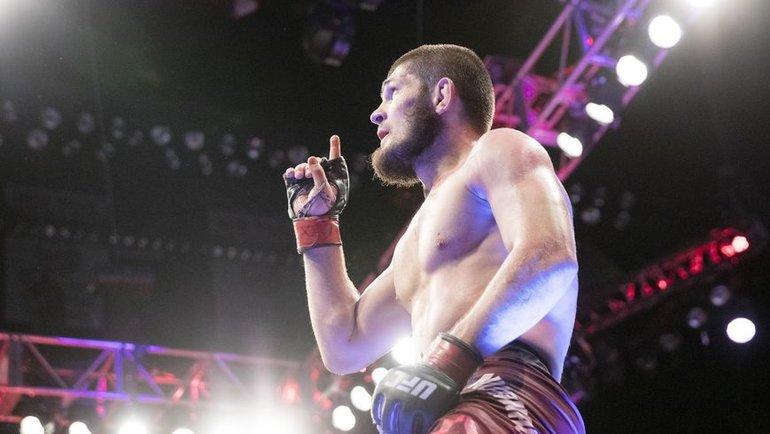 Хабиб Нурмагомедов. Фото MMA Fighting