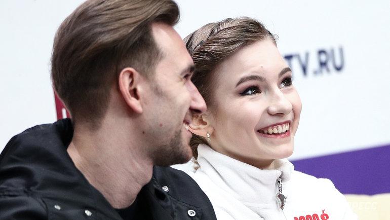 Даниил Глейхенгауз и Дарья Усачева. Фото Дарья Исаева, «СЭ» / Canon EOS-1D X Mark II