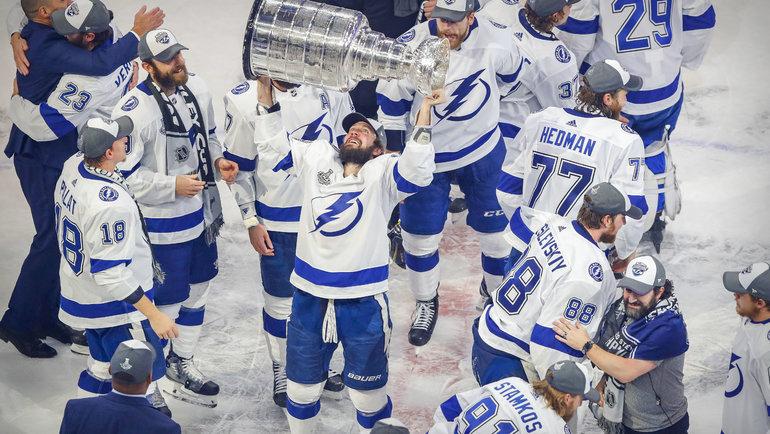 Никита Кучеров. Фото USA Today Sports