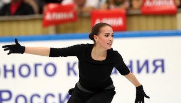 Новый показательный номер Алины Загитовой
