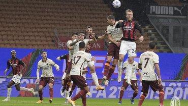 «Милан» впервые всезоне потерял очки, несмотря надубль Ибрагимовича