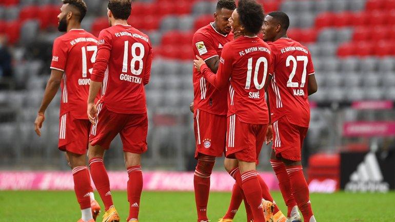 ИгрокиФК «Бавария». Фото Reuters