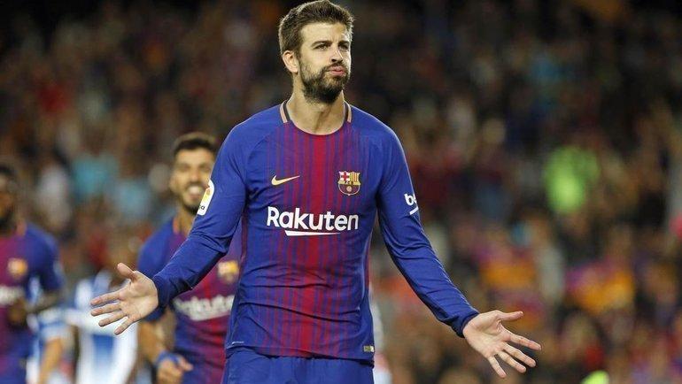 Жерар Пике. Фото ФК «Барселона».