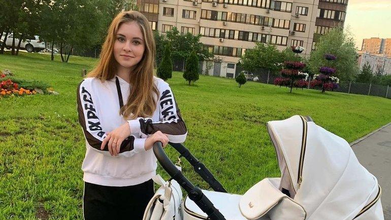 Юлия Липцникая сребенком. Фото Instagram