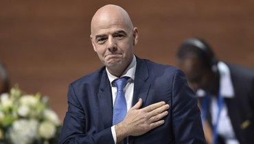Президент ФИФА Инфантино заболел коронавирусом