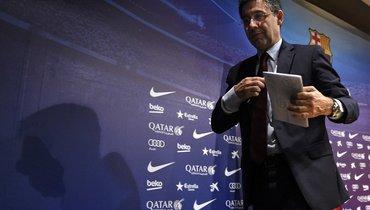 Marca: Бартомеу подал вотставку споста президента «Барселоны
