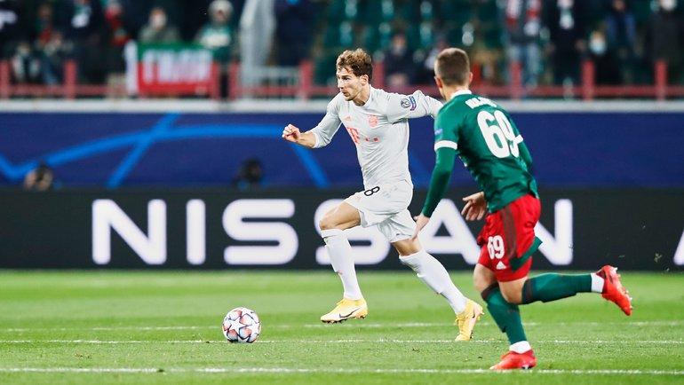 27октября. «Локомотив»— «Бавария»— 1:2. Фото ФК «Бавария».