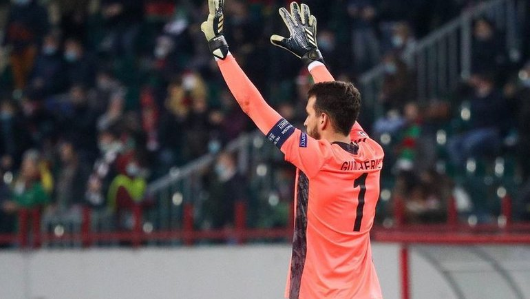 27октября. «Локомотив»— «Бавария»— 1:2. Гильерме. Фото Instagram