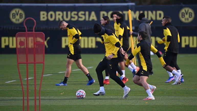 Тренировки «Боруссии Дортмунд». Фото Ina Fassbender, AFP