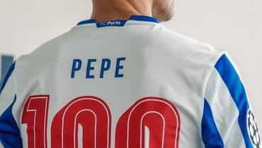 Пепе— 40-й футболист, сыгравший 100 матчей вЛиге чемпионов