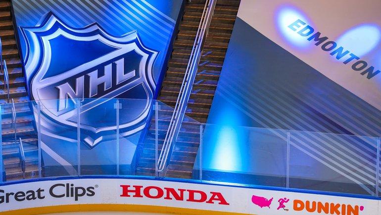 Логотип НХЛ. Фото USA Today Sports