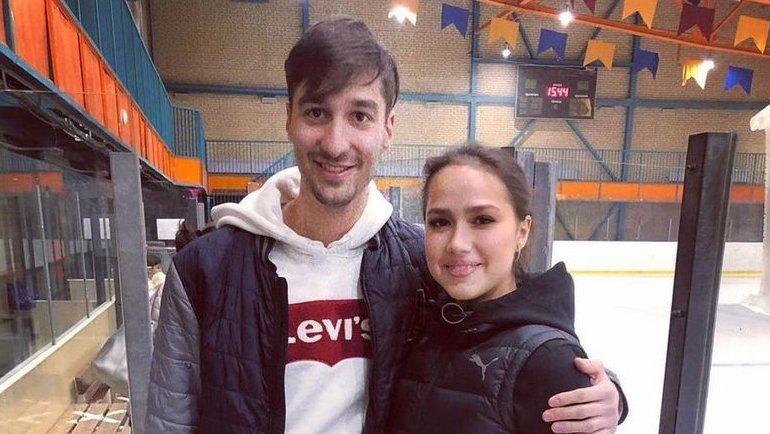 Алина Загитова иАмир Хабибуллин. Фото Instagram