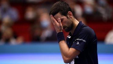 Джокович в1/4 финала турнира вВене уступил 42-й ракетке мира, взяв три гейма