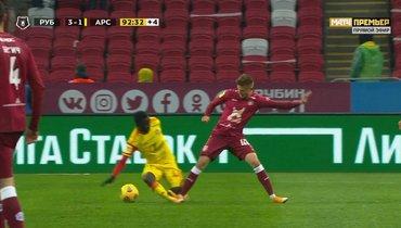 «Рубин»— «Арсенал»: судья неудалил казанца Косарева