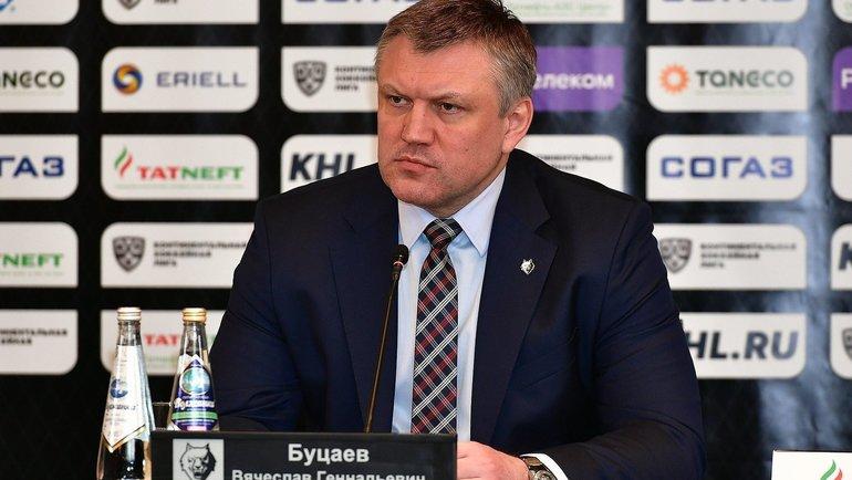 Вячеслав Буцаев. Фото photo.khl.ru