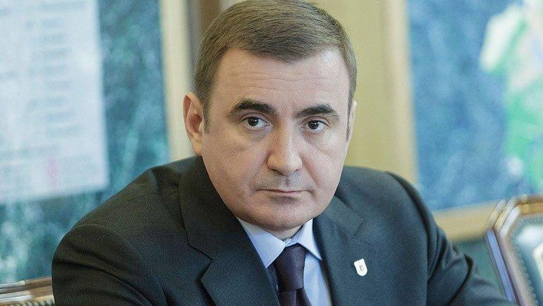Губернатор Тульской области Алексей Дюмин. Фото newstula.ru