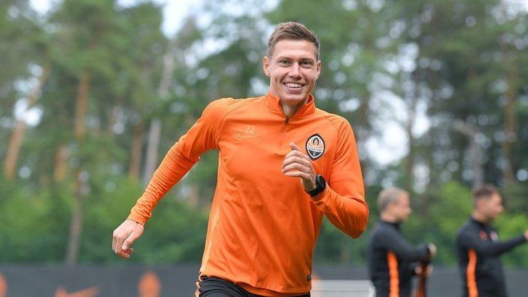 Николай Матвиенко. Фото ФК «Шахтер»