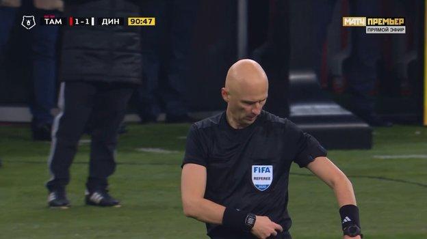 1ноября. Саранск. «Тамбов»— «Динамо»— 1:2. Сергей Карасев.